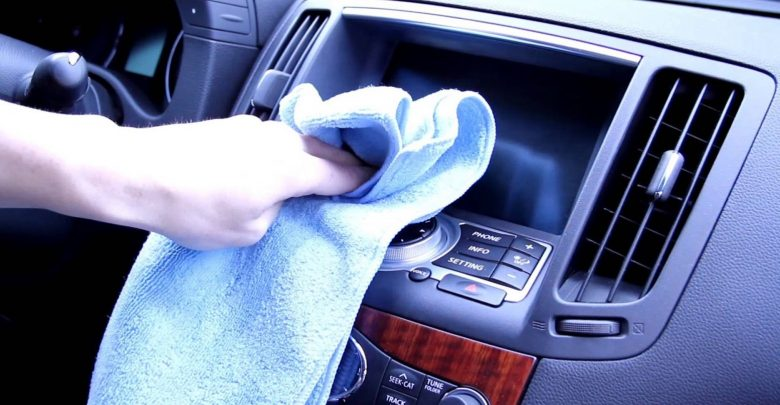 Clean Car Touch Screen