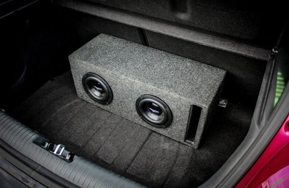 How to Mount a Subwoofer Box in the Trunk