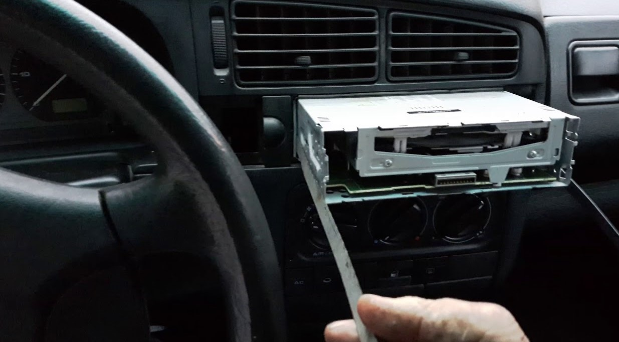 How to Remove a Car Stereo Without Din Tools