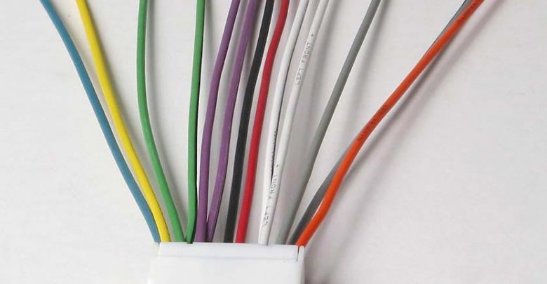car stereo wire colors