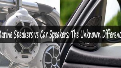 Marine Speakers vs Car Speakers
